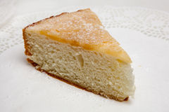 Pastel de queso, diversas clases de helado y postre Fotografía de archivo libre de regalías