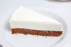 Pastel de queso, diversas clases de helado y postre Fotos de archivo