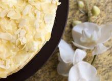 Pastel de queso hecho en casa Fotografía de archivo