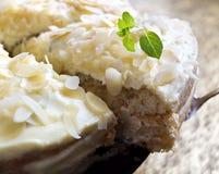 Pastel de queso hecho en casa Fotos de archivo libres de regalías