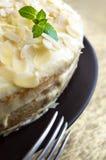 Pastel de queso hecho en casa Foto de archivo