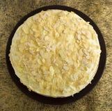 Pastel de queso hecho en casa Foto de archivo libre de regalías