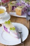 Pastel de queso hecho en casa Imagen de archivo