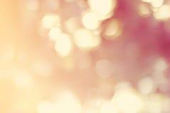 Pastel Defocused de lumière de taches de fond abstrait Photo stock
