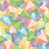 Pastel diamond seamless pattern abstract luxury crystal vector design. Pastel diamond seamless pattern abstract luxury crystal vector Royalty Free Stock Photography