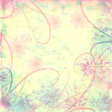 Pastel distressed textured background Royalty Free Stock Photos