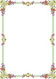 Pastel do ornamento frame1 Imagens de Stock