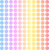 Pastel dot matrix background Royalty Free Stock Photos