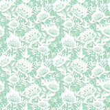 Pastel dream flowers seamless pattern background Royalty Free Stock Photos
