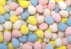 Pastel Easter egg candy background Royalty Free Stock Photography