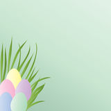 Pastel Easter Eggs Royalty Free Stock Images
