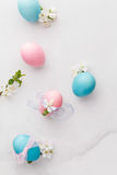 Pastel Easter eggs Royalty Free Stock Photo
