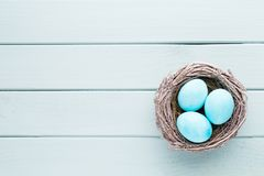 Pastel Easter eggs background. Spring greating card. Pastel Easter eggs background. Spring greating card Royalty Free Stock Image