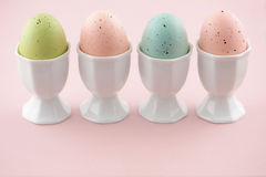 Pastel Easter eggs Stock Photography