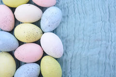 Pastel Easter Eggs Royalty Free Stock Photos