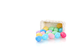 Pastel eggs Royalty Free Stock Photography