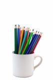 Pastel en la taza Imagenes de archivo