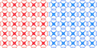 Pastel fabric seamless pattern Royalty Free Stock Photography