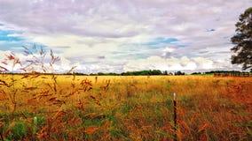 Pastel farm Stock Photography