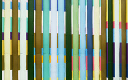 Pastel fence. Line in pattern for background usage Royalty Free Stock Image