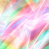Pastel Fireworks Fantasy. Abstract blur fantasy background design of wavy, swirling, flowing laser-like soft beautiful multicolor pastels Royalty Free Stock Photos