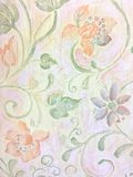 Pastel floral background Stock Photos