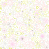 Pastel floral texture Stock Photo