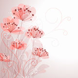 Pastel flower background Royalty Free Stock Photos