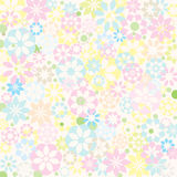Pastel flower texture Stock Image