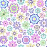 Pastel flower on white background. Stock Images