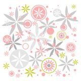 Pastel flowers background Stock Photo