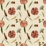 Pastel_flowers_pattern stock illustratie