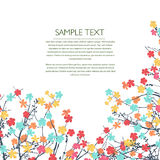 Pastel flowers Stock Image