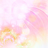 Pastel fractals Stock Image