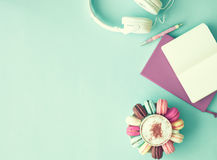 Free Pastel French Macarons Royalty Free Stock Photography - 81178907