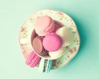 Pastel French Macarons Royalty Free Stock Image