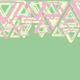 Pastel geometry Royalty Free Stock Image