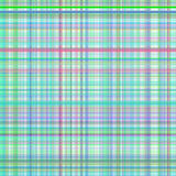Pastel green and blur multicolored stripes plaid Stock Photography
