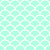 Pastel green fish scales Stock Photography