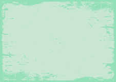 Pastel green grunge textured background with border. The blank pastel green grunge textured background with border vector illustration