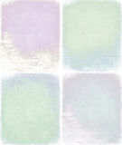 Pastel grunge background set isolated clipping Royalty Free Stock Photo