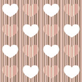 Pastel heart Stock Image
