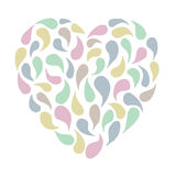 Pastel heart Royalty Free Stock Photo