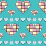 Pastel hearts Royalty Free Stock Photography