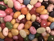 Pastel Jelly Beans Stock Images
