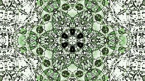 Pastel kaleidoscope sequence patterns. Abstract motion graphics background. Caleidoscope for yoga, clubs, shows, mandala, fractal 3D illustration. Beautiful royalty free stock photo