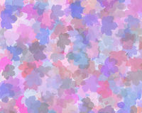 Pastel leaf background. Leaf design background, in pastel pinks to pale blue colours Royalty Free Stock Image