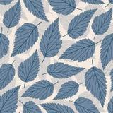 Pastel leaves Stock Image