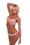 Pastel lingerie Stock Image
