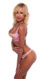 Pastel lingerie Stock Photos